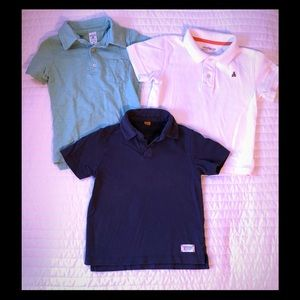Lot of 3 Polos - GAP, Taylor Vintage, & Carter's